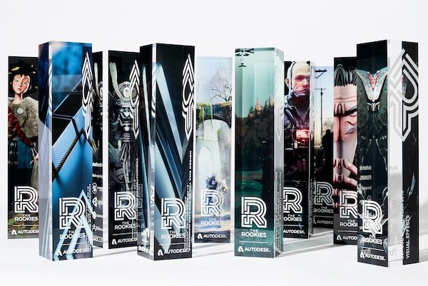 Rookie Awards Trophies