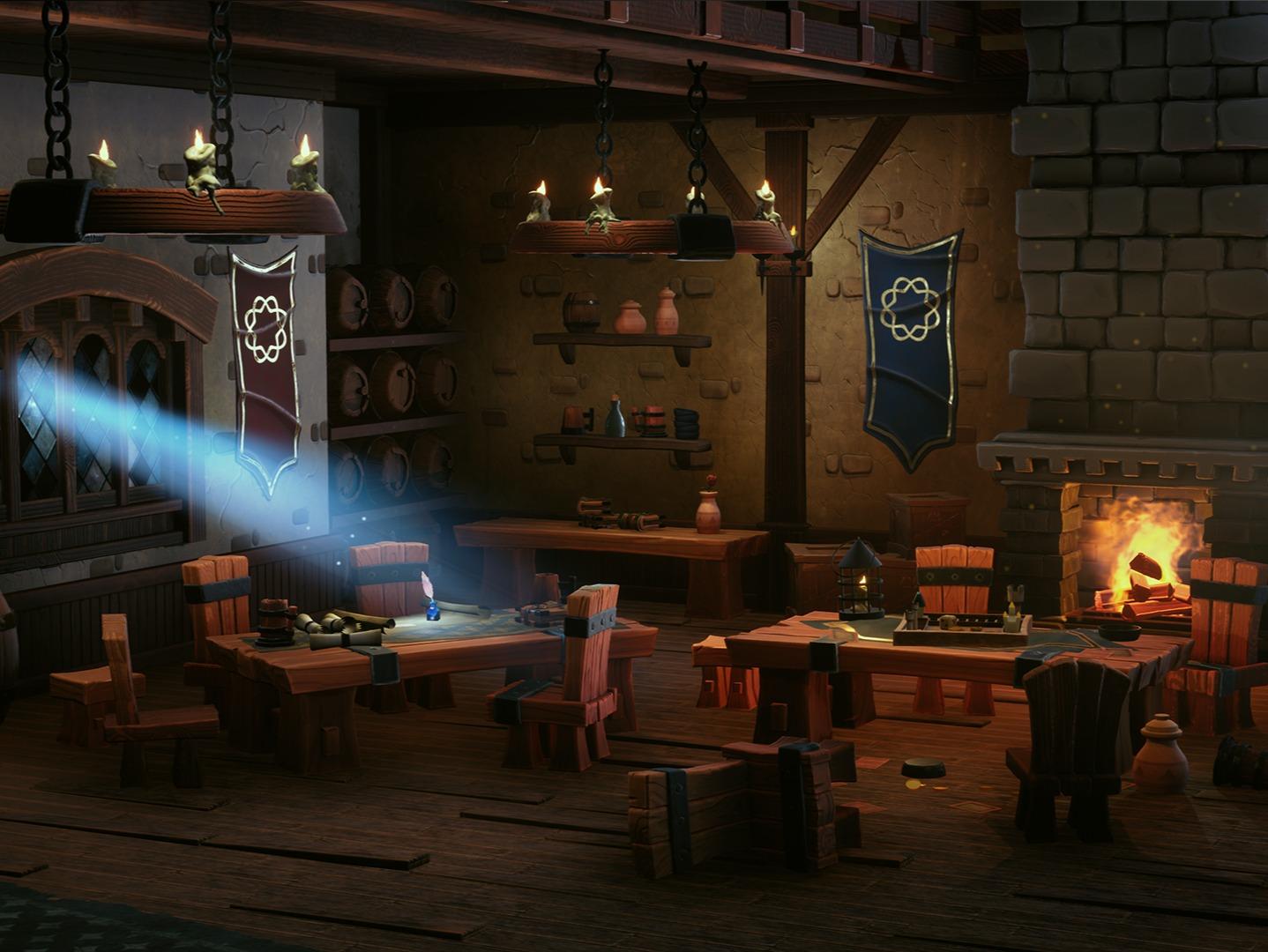 Stylized Tavern Scene