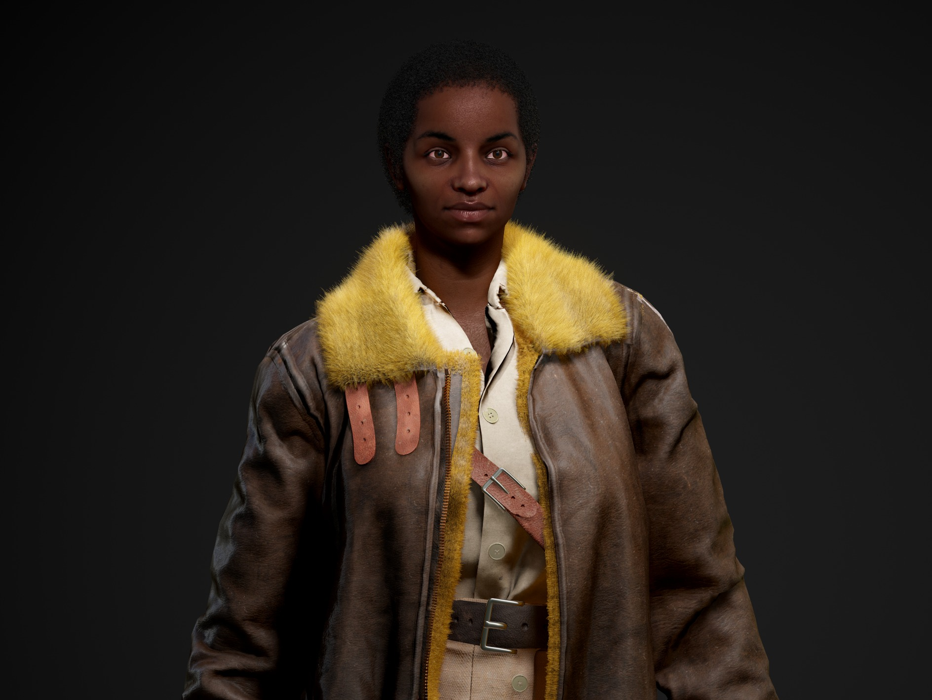 IMD - Real-Time character