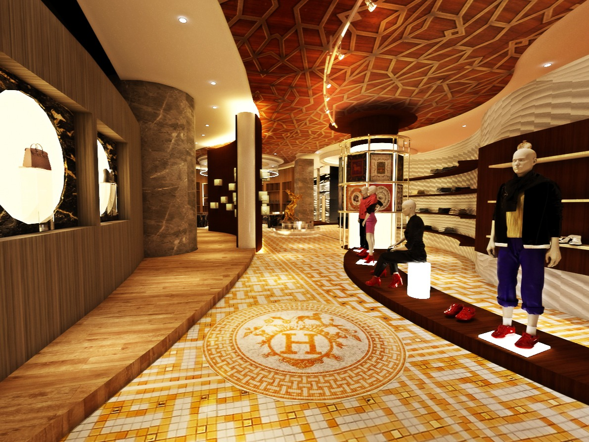 Retail Design for Hermès