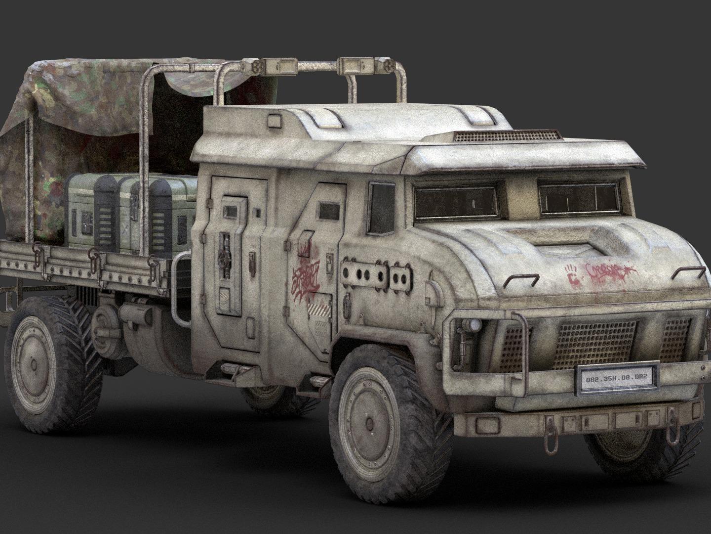 미래형 트럭