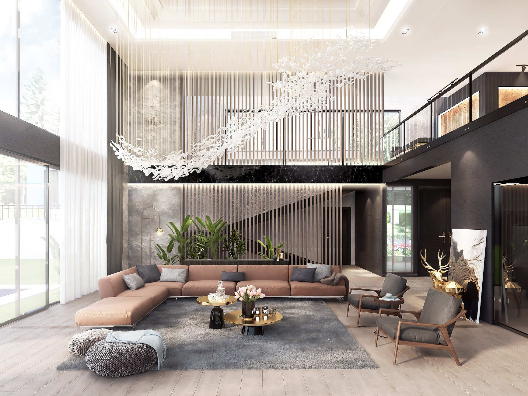 Dark Luxury Residential Design