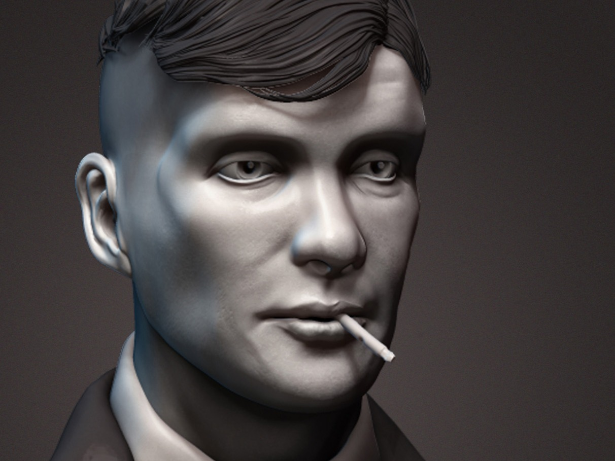 Thomas Shelby bust